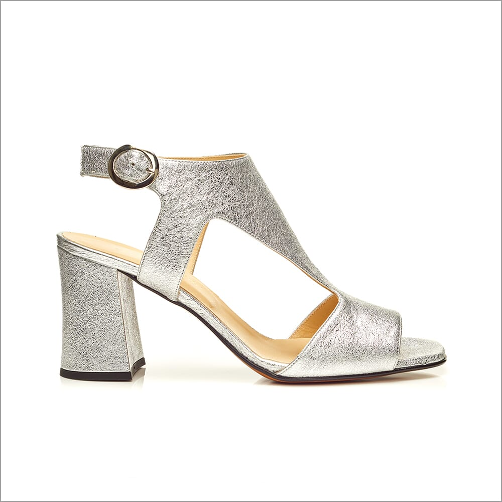 360 Product Photography   Shoes   Heels   Silver