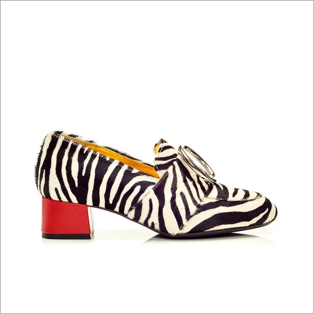 360 Product Photography   Shoes   Heels   Zebra