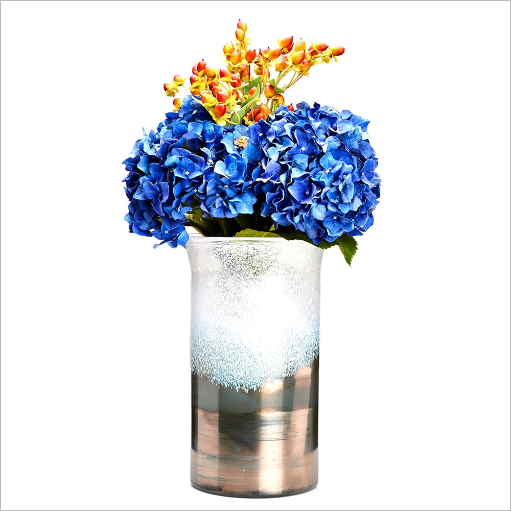 360 Product Photography | Vase with blue flowers