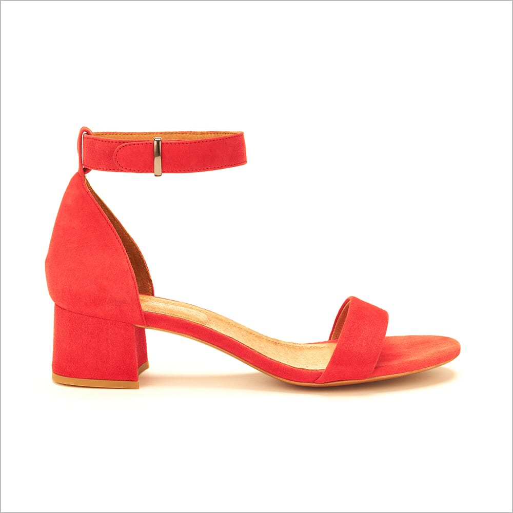 360 Product Photography | Shoes | Heels | Red | Floating Ankle