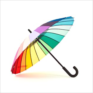 360 Product Photography for Accessories | 360 Spins | Umbrella | Rainbow
